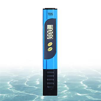 Water Quality Test Pen With Display Screen, Test Ph Temperature, Suitable For Swimming Pool, Aquarium Test (blue)