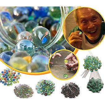 Tintenfisch Spiel Flipper Set Kinder farbige Glaskugel Spielzeug