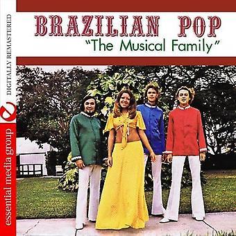 Brasilianske Pop - musikalske familie [CD] USA importerer