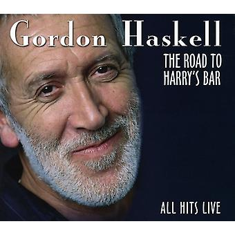 Gordon Haskell - Road to Harry's Bar-All Hits Live [CD] USA import