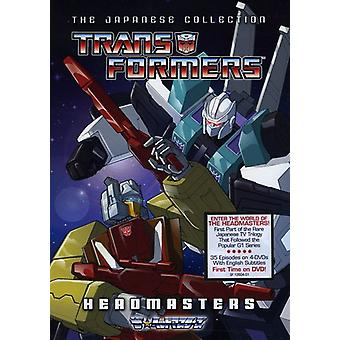 Transformers-Japanese Collection: Headmasters [DVD] USA import