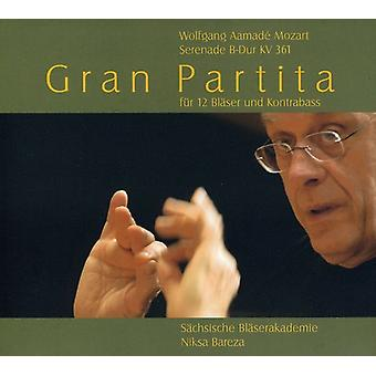 W.a. Mozart - Mozart: Gran Partita [CD] USA import