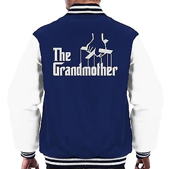 The Godfather The Godmother Men's Varsity Jacket