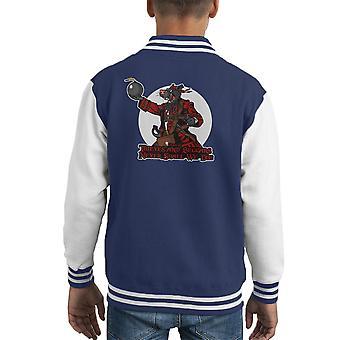 Rata Pirata Rat piraat Kid's Varsity Jacket
