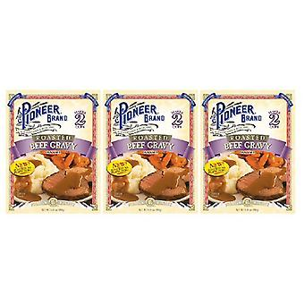 Pioneer Brand Roasted Beef Gravy Mix 3 Packet Pack