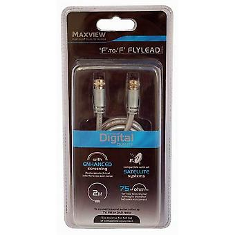 Maxview 4m F To F Satellite Flylead