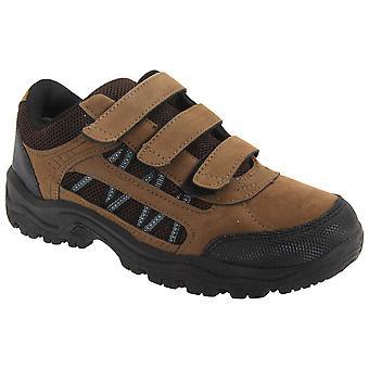 DEK pojkar Ascend Triple Touch infästning Trek vandringsled skor