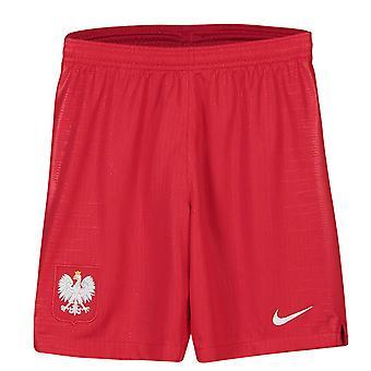 2018-2019 Polen Nike weg Shorts (rood) - Kids
