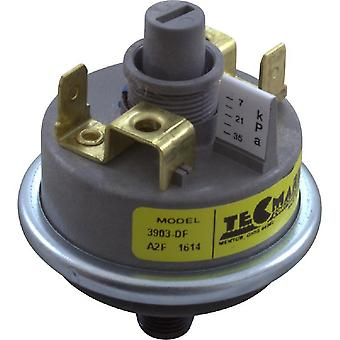 "TecMark 3903-DF 1-AMP 0.12"" MPT Pressure Switch"