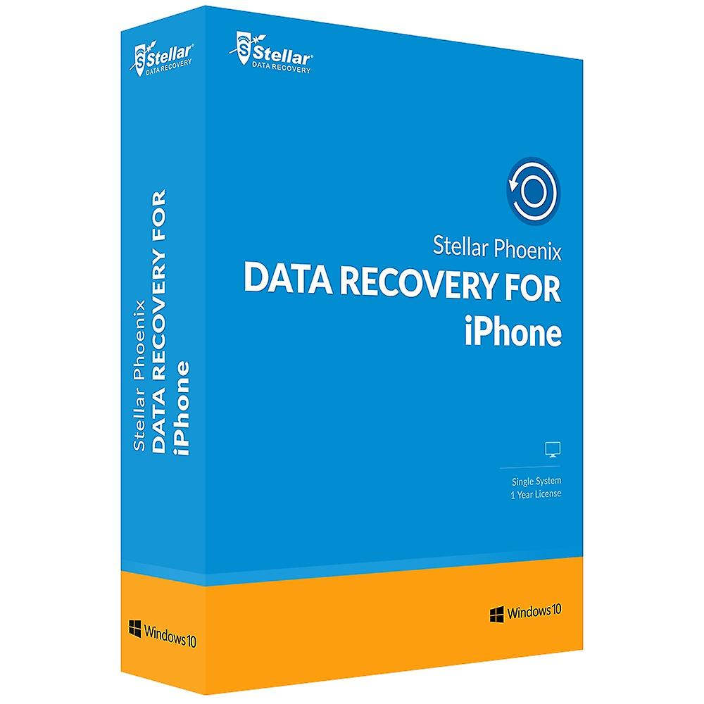 Stellar Phoenix Data Recovery for iPhone (Windows)