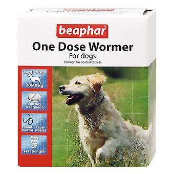 BEAPHAR ONE DOSE WORMER FOR MEDIUM DOG