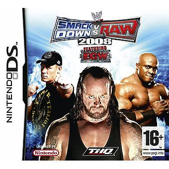 SmackDown Vs Raw 2008 (Nintendo DS) - Neu