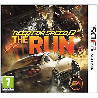 Need for Speed The Run (Nintendo 3DS) - New