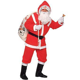 Deluxe Flanel Santa