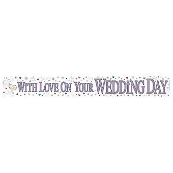 Expression Factory Wedding Day Holographic Foil Banner