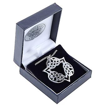 Celtic Knot Pewter Pendant