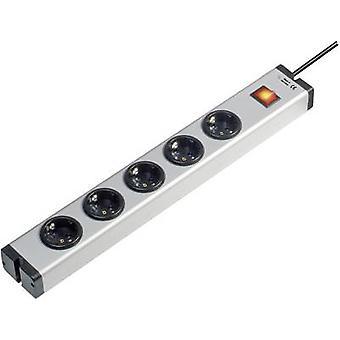 Ehmann 0601x00052031 Socket strip (+ switch) 5x Aluminium PG connector 1 pc(s)