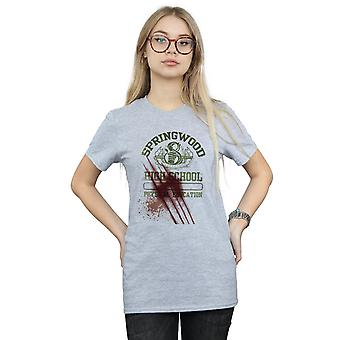 A Nightmare On Springwood Slasher Boyfriend Elm Street féminines Fit T-Shirt