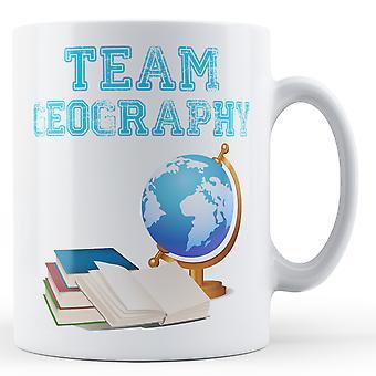 Team geografi - trykte krus