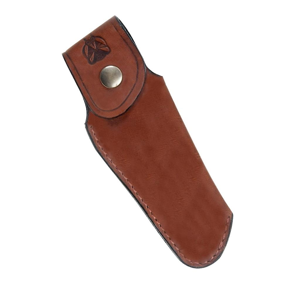 Finest quality leather sheath for Laguiole - Color - Brown Direct from France