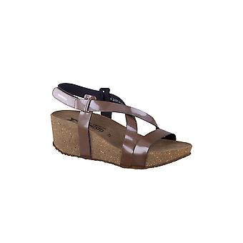 Mephisto Farnia Strappy Cork Wedge Sandal