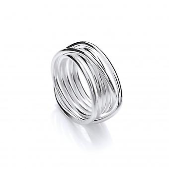 Cavendish francia Silver Weave Ring