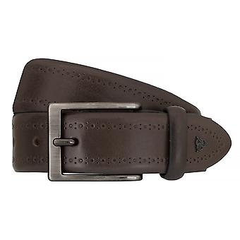 ROY ROBSON belts men's belts leather belt grey 7633