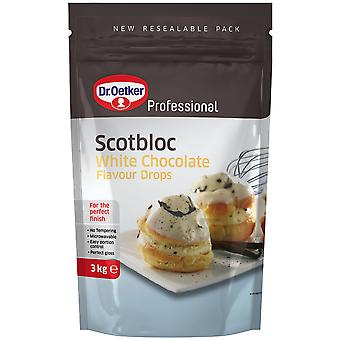 Dr Oetker Professional Scotbloc White Chocolate Drops