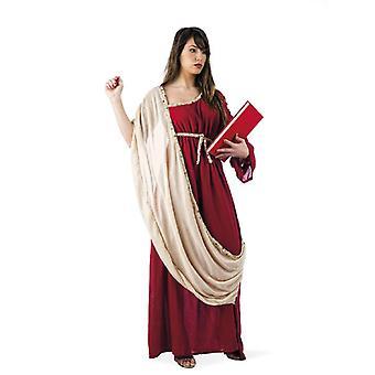 Damas griegas traje traje de las señoras de vestido atuendo Griego medieval edad media manga de Toga