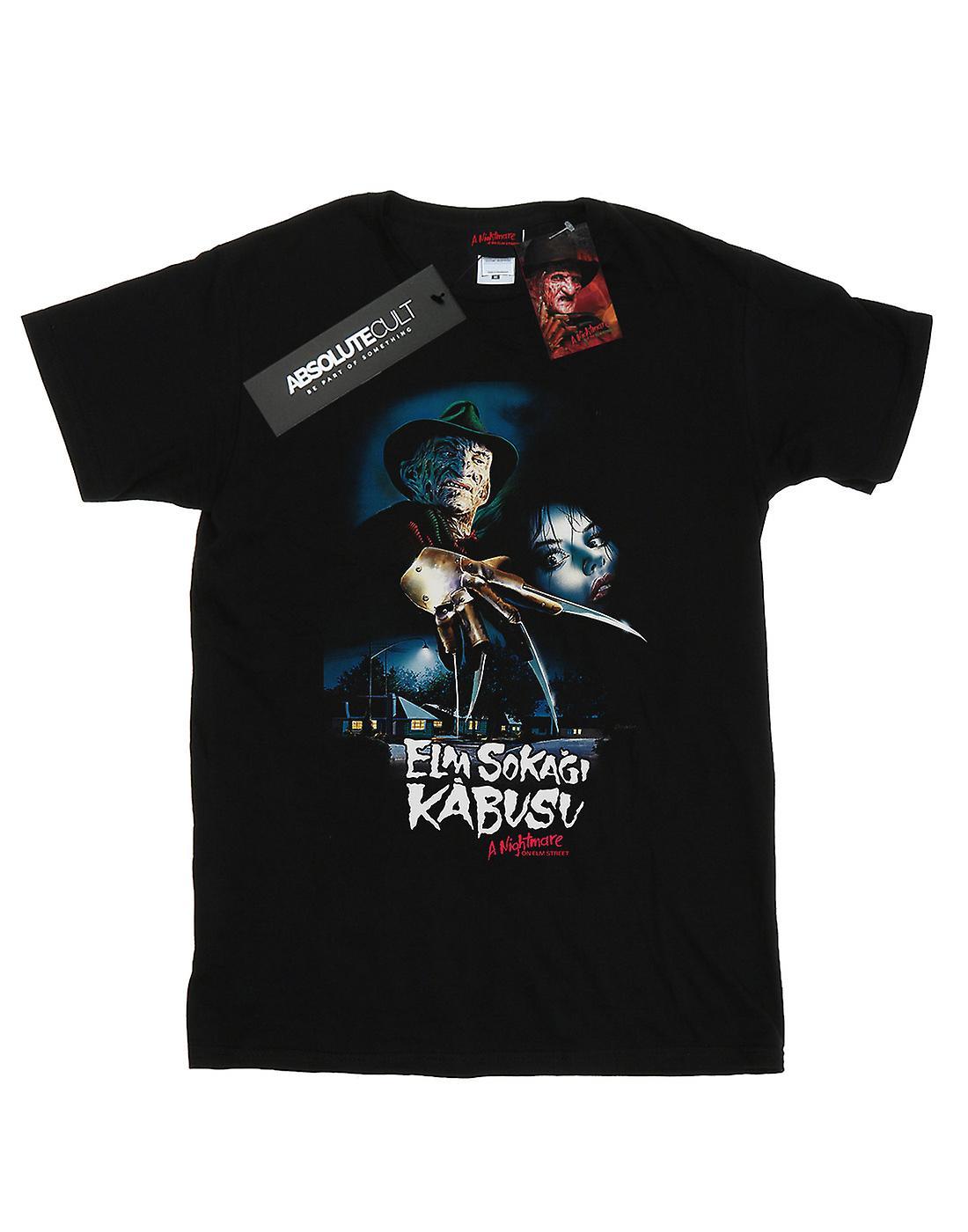 A Nightmare On Elm Street Men's Turkish Movie Poster T-Shirt