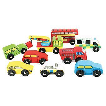Pack de veículo de estrada Bigjigs