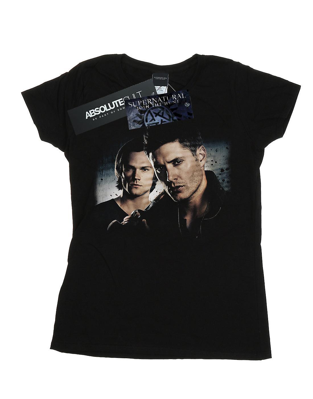 Supernatural Women's Sam And Dean Poster T-Shirt