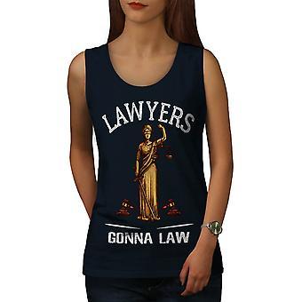 Asianajajat Gona Law Women NavyTank Top | Wellcoda, mitä sinä olet?