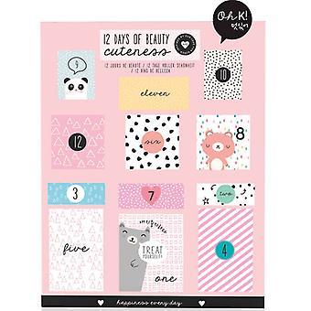 Oh K! 12 Days of Beauty Advent Calendar