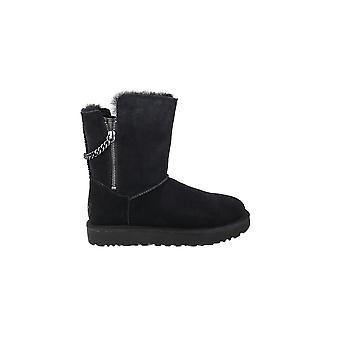Calçados femininos inverno universal UGG Sparkle clásssico curto de 1094983BLK