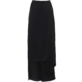 Xenia Design Vada5 Drape Front Wide Leg Trousers