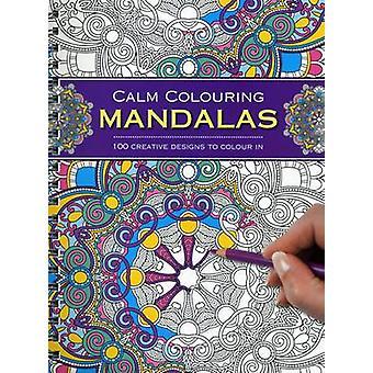 Rauhallinen, värjäys - Mandalas - 100 luovia malleja väri jäseneltä lounaaseen SA
