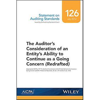 Statement on Auditing Standards - Nummer 126 - des Prüfers überz