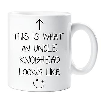 This Is What An Uncle Knobhead Looks Like Mug V2