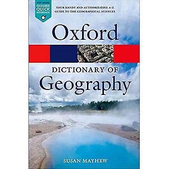 A Dictionary of geografie (Oxford Quick Reference)