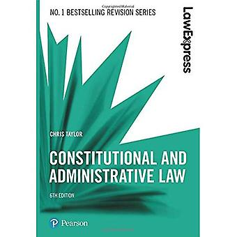 Law Express: Constitutional and Administrative Law (Law� Express)
