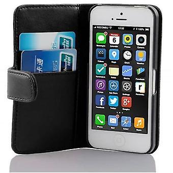 iPhone 5C折りたたみ式電話ケース用ケース - カバー - スタンド機能とカードトレイ付き
