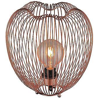 Iluminación de primavera - Leeds EPMM030DQ1UBCM de lámpara de mesa de cobre