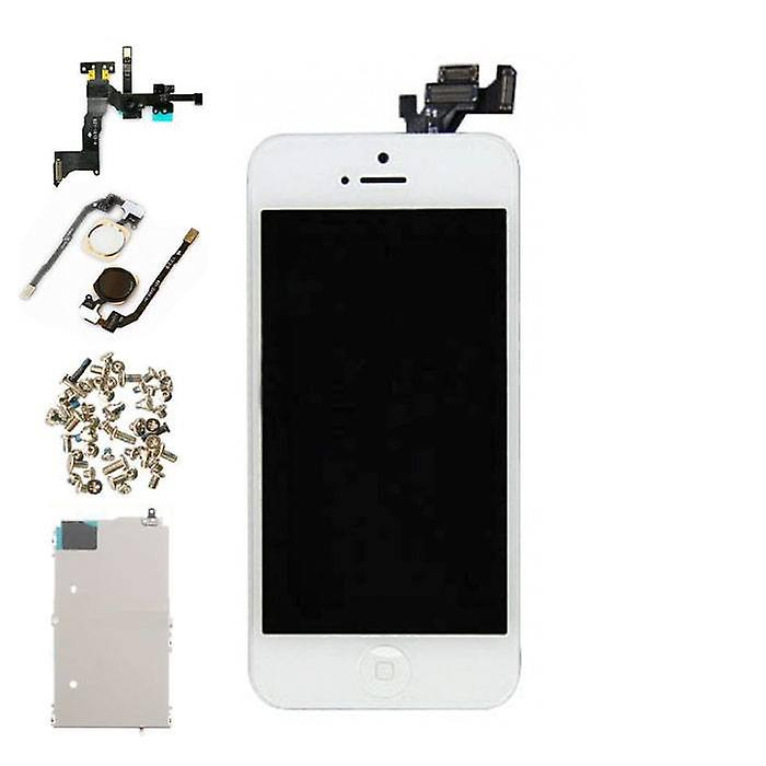 Stuff Certified® iPhone 5 Pre-assembled Screen (Touchscreen + LCD + Parts) A + Quality - White + Tools