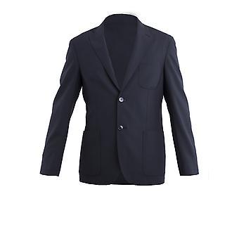 Corneliani 83x5769113040007 Men's Black Silk Blazer