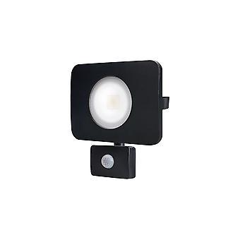 Integrale-LED floodlight 50W 4000K 4500lm PIR sensor/overschrijven mat zwart-ILFLC036POV