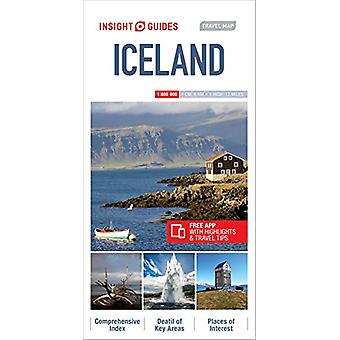 Insight Guides Travel Map Iceland - 9781786719249 Book
