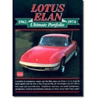 Lotus Elan 1962-1974 Ultimate Portfolio by R. M. Clarke - 97818552055