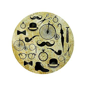 Grindstore Fine & Dandy Circular Glass Chopping Board