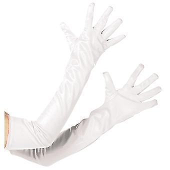 Mănuși alb extra lung accesoriu mănușă de carnaval Halloween